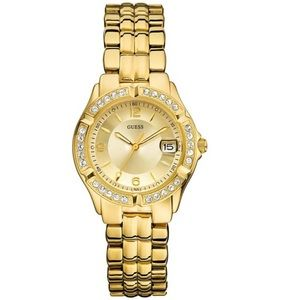 Guess Gold-tone Watch Mid-size